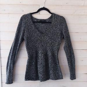 🔵CALVIN KLEIN gray casual sweater